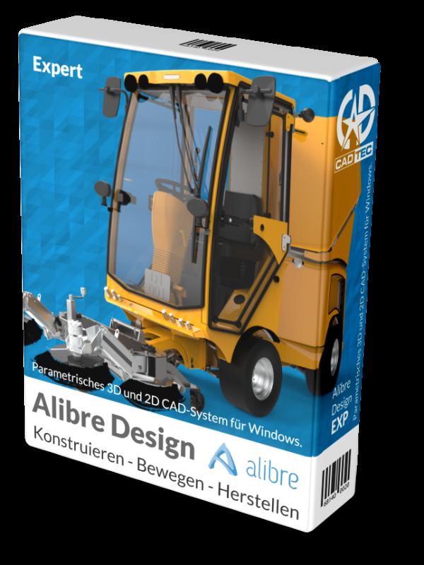Alibre Design EXP 3D-CAD inkl. 1 Jahr Softwarewartung