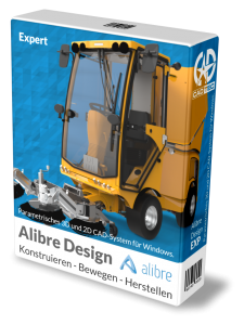 Alibre Design EXP 3D-CAD inkl. 1 Jahr Softwarewartung