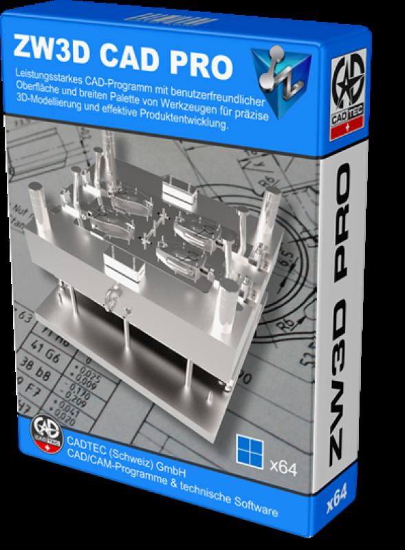 ZW3D CAD Professional (Level 3)