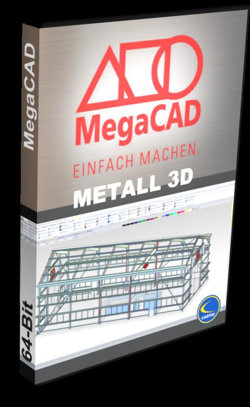 MegaCAD Metall 3D