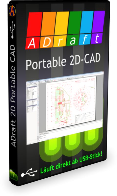 ADraft Portable 2D CAD