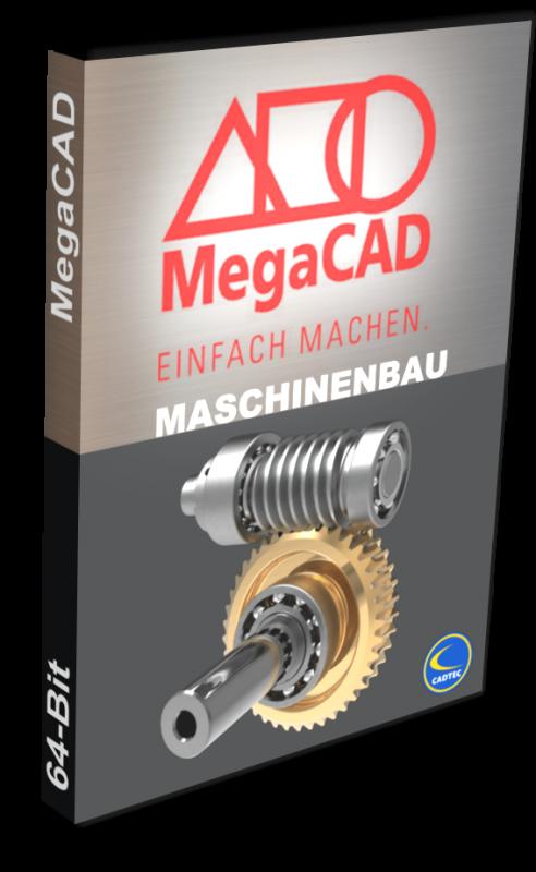 MegaCAD Maschinenbau 3D