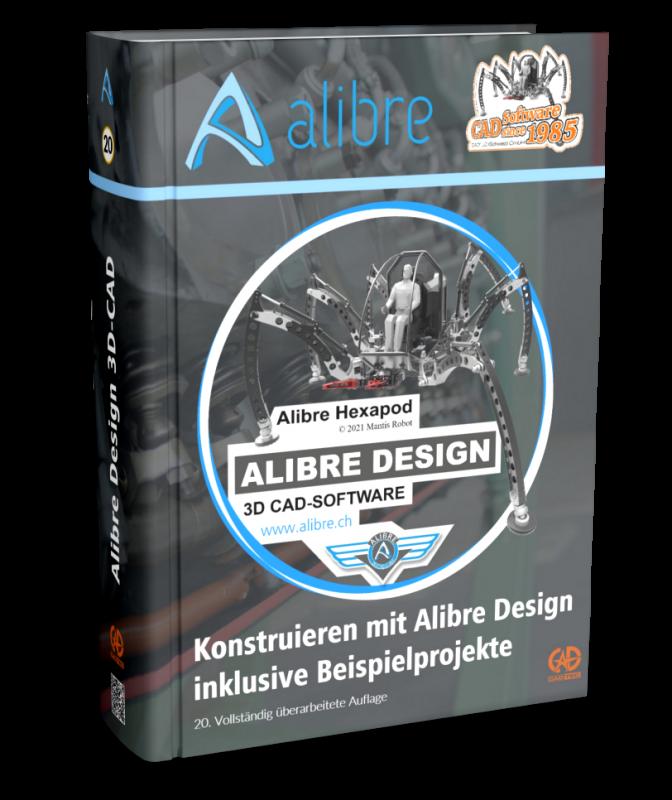 Hardcover-Buch für Alibre Design
