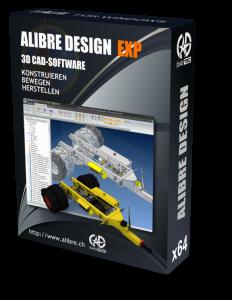 Upgrade Alibre Design EXP von STD, PE, Cubify