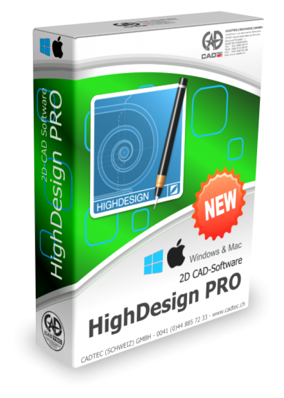HighDesign PRO für Windows und Mac