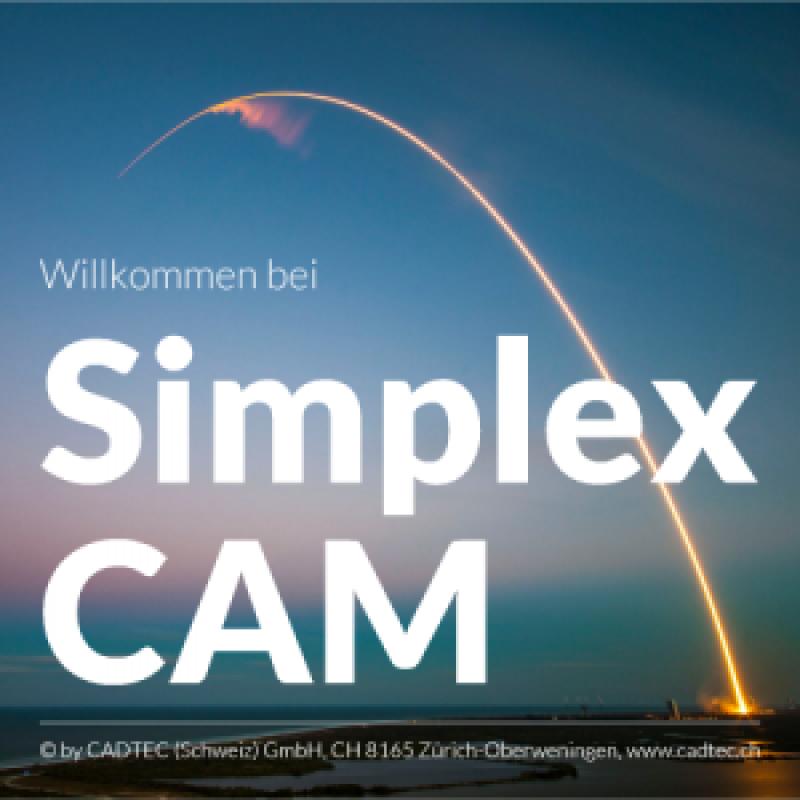 SimplexCAM Zusatzlizenz für Adaptiv + Fräsen + Drehen