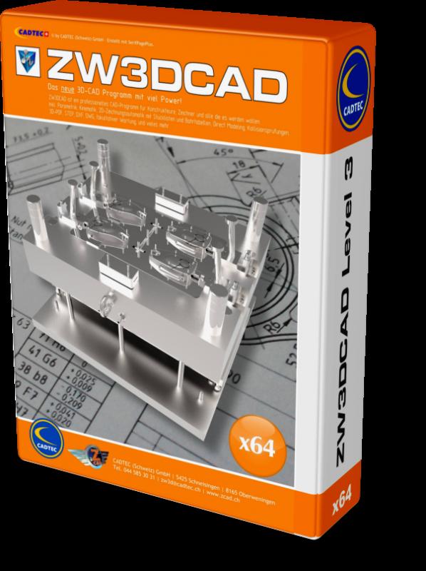 Upgrade ZW3D Standard auf Professional