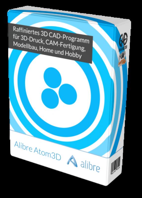 Alibre Atom3D inkl. 1 Jahr Softwarewartung