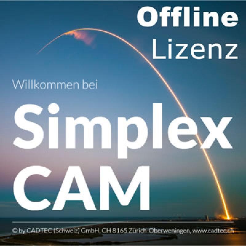 SimplexCAM Offline-Lizenz