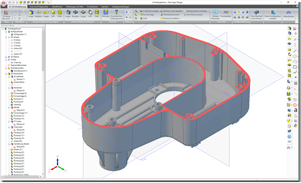 Alibre Geomagic Design 3D CAD mit bestem Preis-Leistungs-Verhältnis